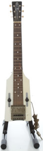 Musical Instruments:Lap Steel Guitars, 1940's Silvertone Crest Lap Steel Guitar....
