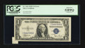 Error Notes:Foldovers, Fr. 1611 $1 1935B Silver Certificate. PCGS Very Choice New 64PPQ.Fr. 1612 $1 1935C Silver Certificate. PCGS About New 53P... (Total:2 notes)