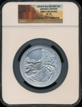 Modern Bullion Coins, 2010-P 25C Grand Canyon Five Ounce Silver, Early Releases SP70 NGC.NGC Census: (920). PCGS Population (126). The image ...