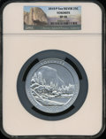 Modern Bullion Coins, 2010-P 25C Yosemite Five Ounce Silver SP70 NGC. NGC Census: (187).PCGS Population (35). The image displayed is a stock p...