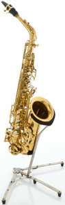 Musical Instruments:Horns & Wind Instruments, Circa 1971 Selmer Mark VI Brass Alto Saxophone, Serial #188725....