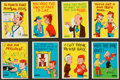"Non-Sport Cards:Sets, 1961 Donruss ""Idiot Cards"" High Grade Complete Set (66). ..."