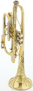 Musical Instruments:Horns & Wind Instruments, Circa 1961 The Martin Committee Brass Cornet, Serial #209371....