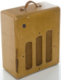 Musical Instruments:Amplifiers, PA, & Effects, Circa 1940's National Tweed Guitar Amplifier, Serial #2312G....