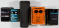 Musical Instruments:Amplifiers, PA, & Effects, Effects Pedal Lot DOD, CryBaby, Ross, MXR... (Total: 4 Items)