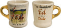 "Movie/TV Memorabilia:Memorabilia, A John Wayne Coffee Mug from ""The Searchers.""..."