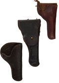 Western Expansion:Cowboy, Western Gear: Holsters.... (Total: 3 Items)