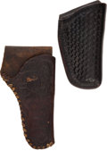 Western Expansion:Cowboy, Western Gear: Pair of Holsters.... (Total: 2 Items)