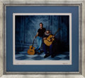 Music Memorabilia:Photos, Grateful Dead - Jerry Garcia and Bob Weir Limited Edition HerbGreene Photo Print #25/53 (1995)....