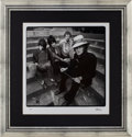 Music Memorabilia:Photos, Jeff Beck Band Limited Edition Herb Greene Photo Print #2/50....