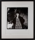 Music Memorabilia:Photos, Janis Joplin Limited Edition Herb Greene Photo Print 19/100(1996)....