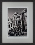 """Music Memorabilia:Photos, Grateful Dead """"The Bands on the Steps of 710 Ashbury - 1967: Limited Edition Herb Greene Photo Print Artist's Proof..."""