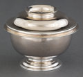 Silver & Vertu:Hollowware, A SAM LAUNDRY GEORGE II SILVER SUGAR BOWL WITH COVER . Sam Laundry, London, England, circa 1728-1729. Marks: (lion passant),... (Total: 2 Items)