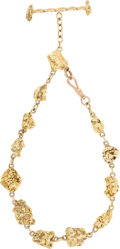 Western Expansion:Goldrush, Substantial Gold Nugget Watch Fob....