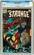 Silver Age (1956-1969):Superhero, Doctor Strange #176 Twin Cities pedigree (Marvel, 1969) CGC NM 9.4 Off-white to white pages....