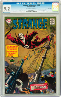 Strange Adventures #205 Twin Cities pedigree (DC, 1967) CGC NM- 9.2 Off-white to white pages