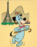 Animation Art:Limited Edition Cel, Huckleberry Hound Promotional Cel Animation Art (Hanna-Barbera, 1976)....
