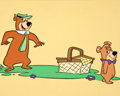 Animation Art:Limited Edition Cel, Yogi Bear and Boo-Boo Promotional Cel Animation Art (Hanna-Barbera, 1976)....