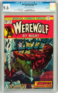 Bronze Age (1970-1979):Horror, Werewolf by Night #20 Savannah pedigree (Marvel, 1974) CGC NM+ 9.6Cream to off-white pages....