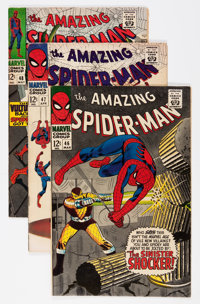 The Amazing Spider-Man #46-49 Group (Marvel, 1967) Condition: Average FN+.... (Total: 4 Comic Books)