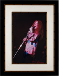 Music Memorabilia:Photos, Janis Joplin Limited Edition Gene Anthony Canvas Print Artist'sProof....