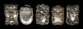 Silver Smalls:Match Safes, A GROUP OF FIVE AMERICAN SILVER AND SILVER GILT MATCH SAFES . 4.19troy ounces. ... (Total: 5 Items)
