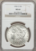 Morgan Dollars: , 1900-O $1 MS64 NGC. NGC Census: (17150/7246). PCGS Population(15341/6554). Mintage: 12,590,000. Numismedia Wsl. Price for ...
