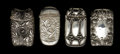 Silver Smalls:Match Safes, A GROUP OF FOUR GORHAM SILVER AND SILVER GILT MATCH SAFES . 3.37ounces. ... (Total: 3 Items)