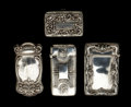 Silver Smalls:Match Safes, A GROUP OF FOUR GORHAM SILVER AND SILVER GILT MATCH SAFES . GorhamManufacturing Co., Providence, Rhode Island, circa 1880-... (Total:4 Items)