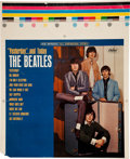 Music Memorabilia:Memorabilia, The Beatles Yesterday and Today Alternate Cover PromotionalSlick (Capitol, 1966). ...