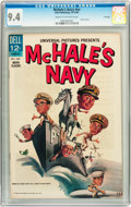 Silver Age (1956-1969):Horror, Movie Classics: McHale's Navy #nn File Copy (Dell, 1964) CGC NM 9.4Cream to off-white pages....