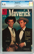 Silver Age (1956-1969):Western, Maverick #12 File Copy (Dell, 1960) CGC NM 9.4 Cream to off-whitepages....