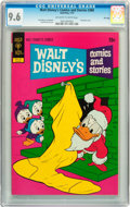 Bronze Age (1970-1979):Cartoon Character, Walt Disney's Comics and Stories #388 File Copy (Gold Key, 1973)CGC NM+ 9.6 Off-white to white pages....