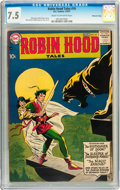 Silver Age (1956-1969):Adventure, Robin Hood Tales #10 Mohawk Valley pedigree (DC, 1957) CGC VF- 7.5 Cream to off-white pages....