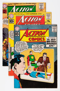 Action Comics Group (DC, 1961-66).... (Total: 11 Comic Books)