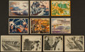 "Non-Sport Cards:Sets, 1939 R165 Gum Inc. ""War News Pictures"" Complete Low Number Set (108). ..."