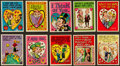 "Non-Sport Cards:Sets, 1960 Topps ""Funny Valentines"" High End Complete Set (66). ..."