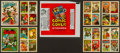 "Non-Sport Cards:Sets, 1970 Topps ""Comic Covers Stickers"" High Grade Near Set (40/44) Plus Wrapper. ..."