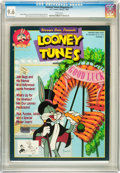 Magazines:Miscellaneous, Looney Tunes Magazine #1 (DC, 1989) CGC NM+ 9.6 White pages....