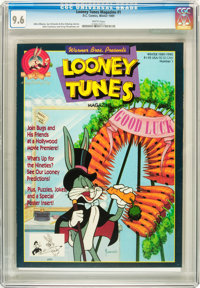 Looney Tunes Magazine #1 (DC, 1989) CGC NM+ 9.6 White pages