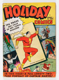Golden Age (1938-1955):Superhero, Holiday Comics #1 (Fawcett, 1942) Condition: VG....