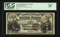 National Bank Notes:Nebraska, Weeping Water, NE - $20 1882 Brown Back Fr. 504 The City NB Ch. # 5281. ...