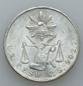 Mexico, Mexico: Republic. Two Pesos from the Guanajuato Mint 1872 1873,...(Total: 2 items)