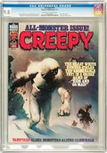 Magazines:Horror, Creepy #85 (Warren, 1977) CGC NM/MT 9.8 Off-white to white pages....