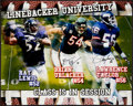 "Football Collectibles:Photos, Lewis, Urlacher and Taylor ""Linebacker University"" Multi SignedOversized Photograph...."