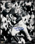 "Football Collectibles:Photos, Gale Sayers ""Kansas Comet"" Signed Oversized Photograph...."