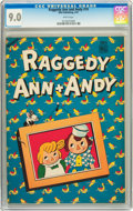 Golden Age (1938-1955):Cartoon Character, Raggedy Ann and Andy #10 (Dell, 1947) CGC VF/NM 9.0 White pages....