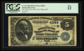 National Bank Notes:Maine, York Village, ME - $5 1882 Date Back Fr. 533 The York County NB Ch.# (N)4844. ...