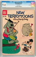 Silver Age (1956-1969):Cartoon Character, New Terrytoons #2 Twin Cities pedigree (Dell, 1960) CGC NM+ 9.6 White pages....