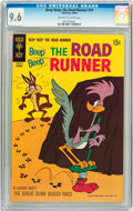 Silver Age (1956-1969):Cartoon Character, Beep Beep, the Road Runner #14 (Gold Key, 1969) CGC NM+ 9.6 Off-white to white pages....